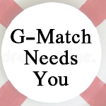 G-Match needs you