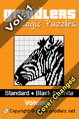 iGridd knjige - Griddlers, Nonograms, Picross uganke. Naložite PDF in natisnite - Standard - Black and White, Vol. 1