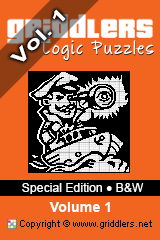 iGridd Books - Griddlers, Nonograms, Picross puzzles. Download PDF and print - Special Edition - Black and White, Vol. 1
