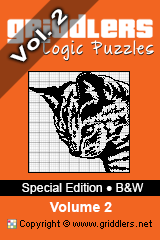 iGridd Books - Griddlers, Nonograms, Picross puzzles. Download PDF and print - Special Edition - Black and White, Vol. 2