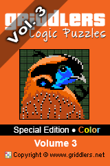 iGridd Books - Griddlers, Nonograms, Picross puzzles. Download PDF and print - Special Edition - Color, Vol. 3
