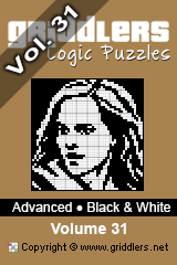 iGridd Bücher - Griddler, Nonogramme, Picross Puzzle. Als PDF herunterladen und drucken - Advanced - Black and White, Vol. 31