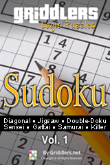 iGridd Books - Griddlers, Nonograms, Picross puzzles. Download PDF and print - Sudoku, Vol. 1