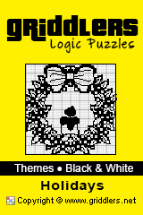 iGridd Books - Griddlers, Nonograms, Picross puzzles. Download PDF and print - Theme - Holidays