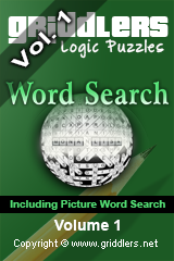 iGridd Books - Griddlers, Nonograms, Picross puzzles. Download PDF and print - Griddlers - Word search Vol.1