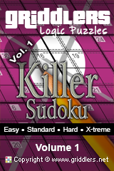 iGridd Books - Griddlers, Nonograms, Picross puzzles. Download PDF and print - Killer, Vol. 1