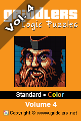iGridd Books - Griddlers, Nonograms, Picross puzzles. Download PDF and print - Standard - Color, Vol. 4