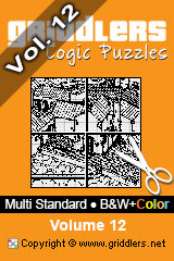 iGridd Books - Griddlers, Nonograms, Picross puzzles. Download PDF and print - Multi Standard - Mix, Vol. 12