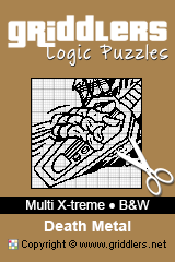 iGridd Books - Griddlers, Nonograms, Picross puzzles. Download PDF and print - Multi X-treme - Black and White,