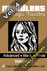 iGridd Bücher - Griddler, Nonogramme, Picross Puzzle. Als PDF herunterladen und drucken - Advanced - Black and White, Vol. 4