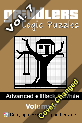 iGridd Bücher - Griddler, Nonogramme, Picross Puzzle. Als PDF herunterladen und drucken - Advanced - Black and White, Vol. 7