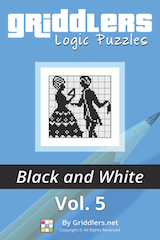 iGridd Books - Griddlers, Nonograms, Picross puzzles. Download PDF and print - Griddlers B&W Vol. 5