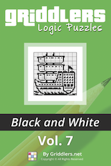 iGridd Books - Griddlers, Nonograms, Picross puzzles. Download PDF and print - Griddlers B&W Vol. 7
