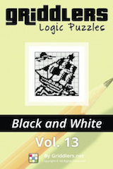 iGridd Books - Griddlers, Nonograms, Picross puzzles. Download PDF and print - Griddlers B&W Vol. 13