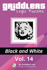 iGridd Books - Griddlers, Nonograms, Picross puzzles. Download PDF and print - Griddlers B&W Vol. 14