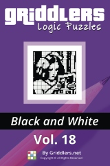 iGridd Books - Griddlers, Nonograms, Picross puzzles. Download PDF and print - Griddlers B&W Vol. 18
