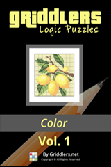 iGridd Books - Griddlers, Nonograms, Picross puzzles. Download PDF and print - Griddlers Color Vol. 1