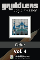 iGridd Books - Griddlers, Nonograms, Picross puzzles. Download PDF and print - Griddlers Color Vol. 4