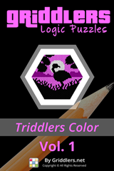 iGridd Books - Griddlers, Nonograms, Picross puzzles. Download PDF and print - Triddlers Color Vol. 1 (40 Pages)