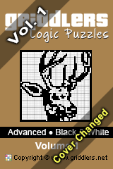 iGridd Bücher - Griddler, Nonogramme, Picross Puzzle. Als PDF herunterladen und drucken - Advanced - Black and White, Vol. 1