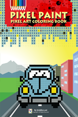 iGridd Books - Griddlers, Nonograms, Picross puzzles. Download PDF and print - Pixel Paint Vol. 1