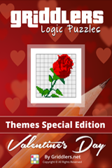 iGridd Books - Griddlers, Nonograms, Picross puzzles. Download PDF and print - Themes - Valentine's Day