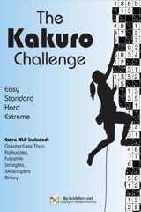 iGridd Books - Griddlers, Nonograms, Picross puzzles. Download PDF and print - The Kakuro Challenge