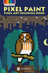 iGridd Books - Griddlers, Nonograms, Picross puzzles. Download PDF and print - Pixel Paint Vol. 2