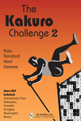 iGridd Books - Griddlers, Nonograms, Picross puzzles. Download PDF and print - The Kakuro Challenge Vol. 2