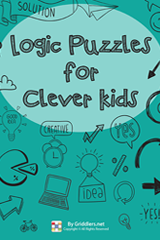 iGridd Books - Griddlers, Nonograms, Picross puzzles. Download PDF and print - Logic Puzzles for Clever Kids, Vol. 1