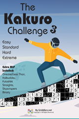 iGridd Books - Griddlers, Nonograms, Picross puzzles. Download PDF and print - The Kakuro Challenge Vol. 3