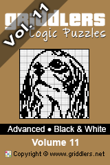 iGridd Books - Griddlers, Nonograms, Picross puzzles. Download PDF and print - Advanced - Black and White, Vol. 11