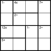 image about Kenken Printable Puzzles identified as Amount Logic Puzzles -